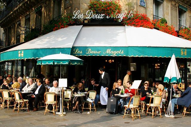 5 nejlepších pařížských kaváren a restaurací